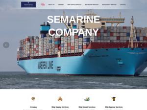 How much semarine.info is worth?